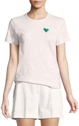 Tory Sport Vintage Cotton Heart Tee