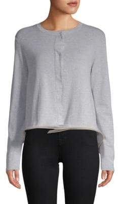 Brunello Cucinelli Button Front Cropped Cardigan