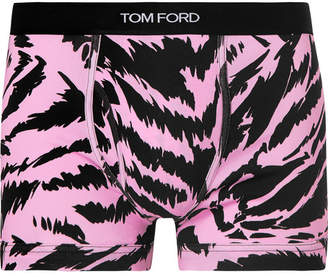 cca3ece28 Tom Ford Zebra-Print Stretch-Cotton Jersey Boxer Briefs