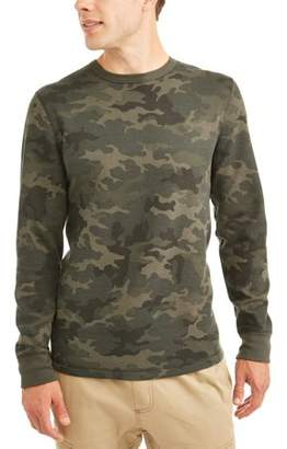 George Men's Long Sleeve Thermal Crew, up to size 5XL