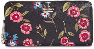 Kate Spade Cameron Street Meadow Lacey Saffiano Leather Wallet