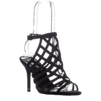 MICHAEL Michael Kors Trinity Sandal Open Toe Sandals, Suede, 8 US / 38.5 EU