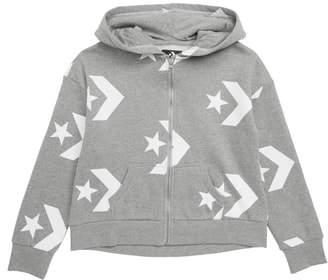 Converse Star Chevron Full Zip Hoodie