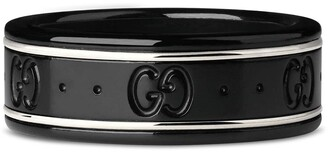 Gucci Icon thin band in white gold