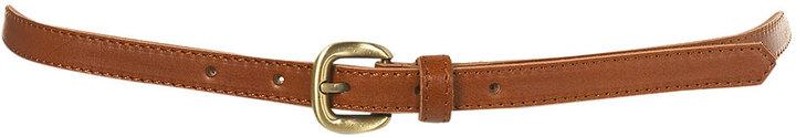 Moulded Bow Detail Skinny Belt