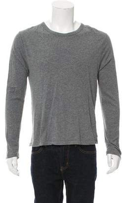 Alexander Wang Long Sleeve Crew Neck T-Shirt
