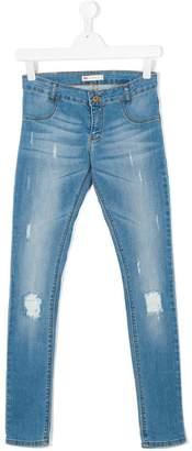 Levi's Kids 710 Super Skinny distressed jeans