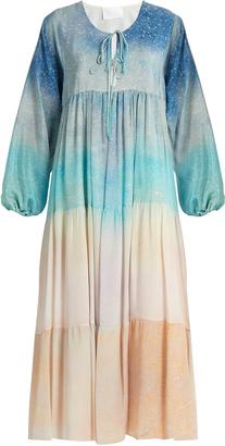 ATHENA PROCOPIOU Love At Dawn silk dress $479 thestylecure.com