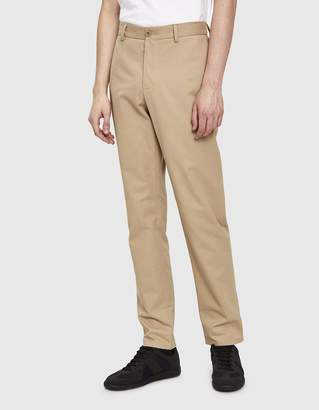 Maison Margiela Soft Brushed Chino Trouser in Sand