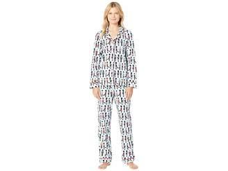 BedHead Long Sleeve Classic Notch Collar Pajama Set