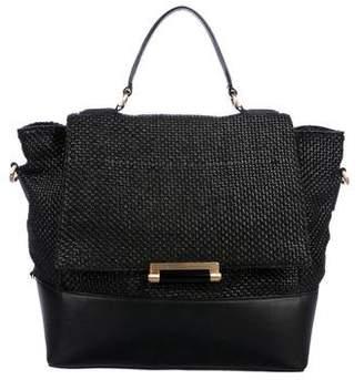 Diane von Furstenberg 440 Raffia Top Handle Bag