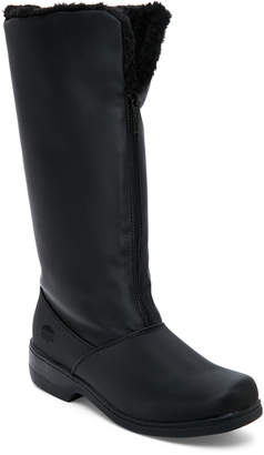 totes Black Cynthia Faux Fur-Lined Snow Boots