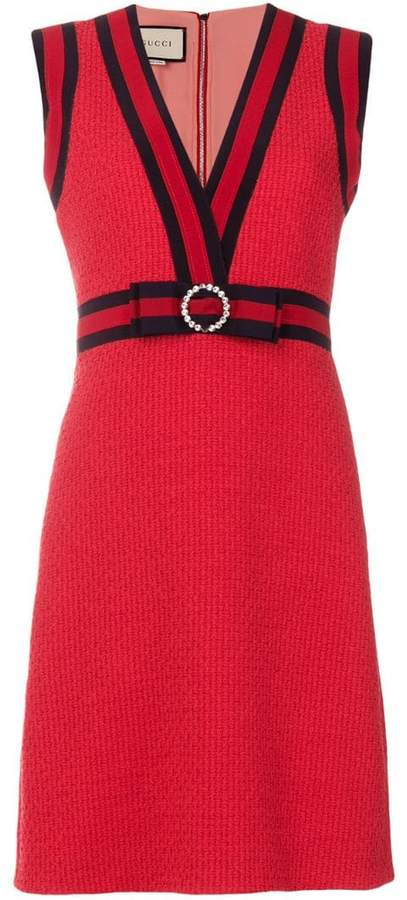 Gucci GG web shift dress