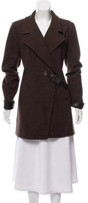 Chanel Short Wool Coat