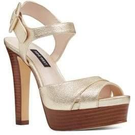 Nine West Ibyn Ankle-Strap Platform Sandals