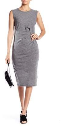 Splendid Knit Pleated Midi Dress