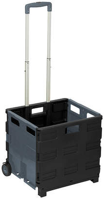 Honey-Can-Do Fold-Up Rolling Storage Cart with Wheels