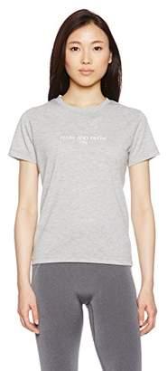 C3fit (シー スリー フィット) - (シースリーフィット)C3fit グラフィック半袖Tシャツ 3FW45307 [レディース] LH ライトグレー M