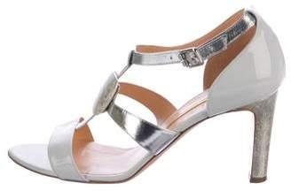 Rupert Sanderson Sylvia Patent Leather Sandals