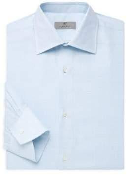 Canali Small Neat Cotton Dress Shirt