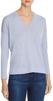 Eileen Fisher Lightweight V-Neck Sweater