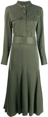 Equipment longsleeved shirt dress