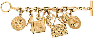 One Kings Lane Vintage 1970s Chanel Icons Charm Bracelet