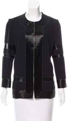 Naeem Khan Embellished Wool Jacket