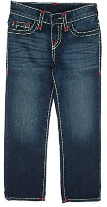 Boy's True Religion Brand Jeans Ricky Super T Straight Leg Jeans $129 thestylecure.com
