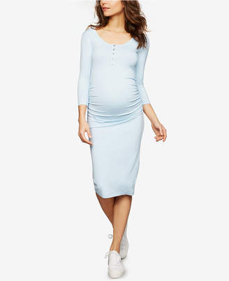Isabella Oliver Maternity Henley Sheath Dress