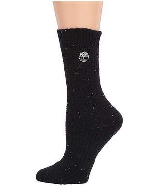Timberland 1-Pair Pack Ribbed Speckled Boot Sock