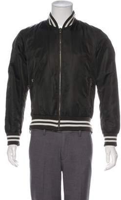 Dolce & Gabbana Woven Bomber Jacket