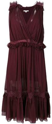 Jonathan Simkhai frill and lace trim dress