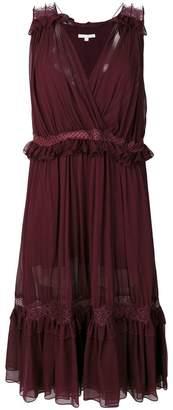 Jonathan Simkhai frill and lace trim dress