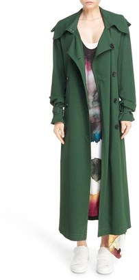 Women's Acne Studios Lucie Maxi Trench $900 thestylecure.com