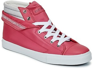 Bikkembergs PLUS 647 women's Shoes (High-top Trainers) in Pink