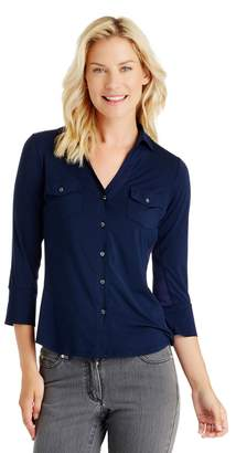 J.Mclaughlin Brynn Shirt in Lyford Jersey
