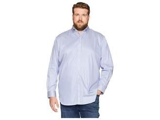 Robert Graham Big Tall Luther Long Sleeve Woven Shirt (Steel