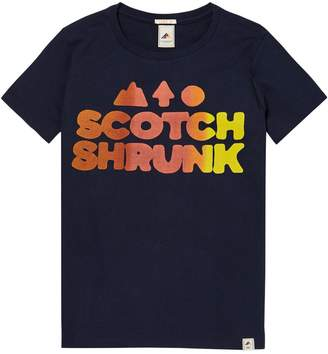 Scotch & Soda Colourful Logo T-Shirt