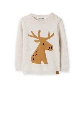 Country Road Elk Intarsia Knit