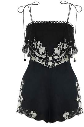 Zimmermann Juniper Applique Playsuit