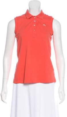 Tommy Bahama Sleeveless Collared Top