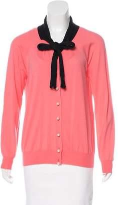 Louis Vuitton Wool & Silk Knit Cardigan w/ Tags