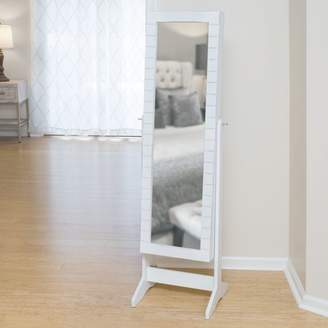 Co FirsTime & Shiplap Cheval Jewelry Armoire