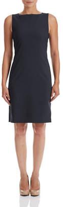 Theory Betty Stretch Wool Shift Dress