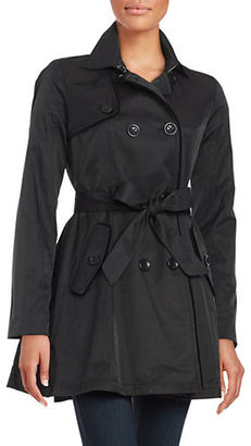 Betsey Johnson Trench Rain Coat $240 thestylecure.com