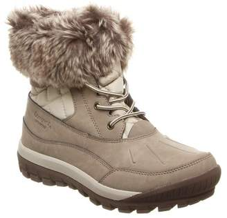 BearPaw Becka Faux Fur Collar Boot