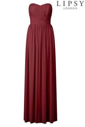 Next Womens Lipsy Bella Mesh Multiway Maxi Dress