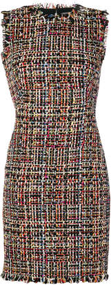 Alexander McQueen Wishing Tree Tweed fitted dress