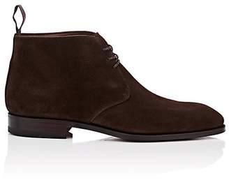 Carmina Shoemaker Men's Suede Chukka Boots